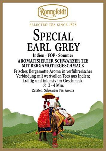 Ronnefeldt - Special Earl Grey - Aromatisierter Schwarzer Tee - 100g
