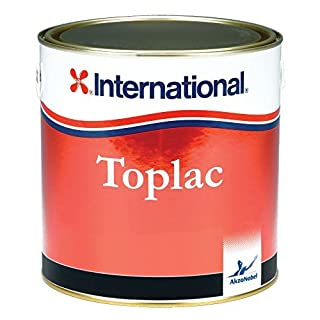 International Boat High Gloss Durable Yacht Paint Toplac 750 ml Brand New (Rochelle Red)