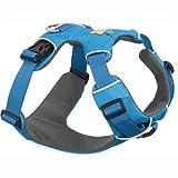 Ruffwear Ganztags-Hundegeschirr, Mittelgroße Hunderassen, Größenverstellbar, Größe: M, Blau, Front Range Geschirr, 30501-407M