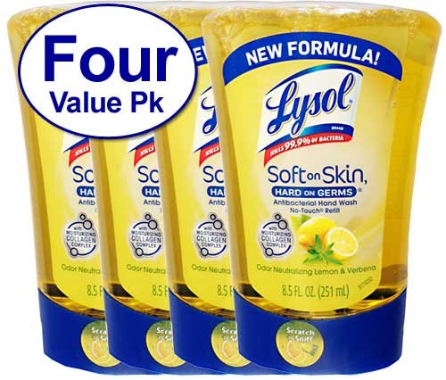 lysol-no-touch-hand-soap-refill-85-fl-oz-soft-on-skin-hard-on-germs-odor-neutralizing-lemon-verbena-