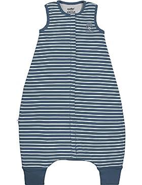 Woolino Baby Schlafsack mit Füßen öffnen Merino Wolle Walker