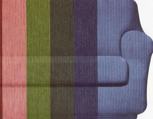 Happidea F3111101411030000 M04 Copridivano, Poliestere-Cotone, Panna, 38x19x31.5 cm, plastica;tela