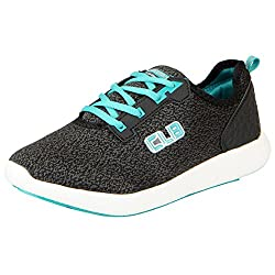 Columbus Mens Black Aqua Sports Running Shoes KM-03-41