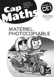 Cap Maths CE1 éd. 2016 - Matériel photocopiable