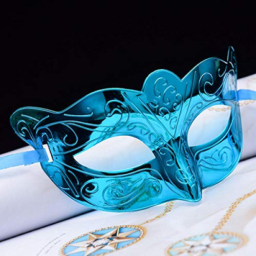 ZHOUHAOJIE Kostümfest Props_New Masquerade Mask Bauchtanz Mystery Veil Prinzessin Mask Lace Party Masquerade Ball