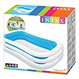 Intex Swim Center Family Inflatable Pool, 103 x 69 x 22