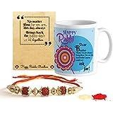 Tied Ribbons Gift For Rakhi Coffee Mug(325Ml) With Rakhi And Roli Chawal Pack