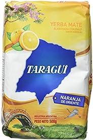 Taragüi Yerba Mate Naranja - 5 Paquetes de 500 gr - Total: 2500 gr