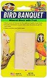 Zoo Med Bird Banquet, Vogelfutter Futterblock, Früchte-Mix, groß, 1 x 142 g