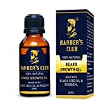 #10: Barber's Club Beard Growth Oil with Black Seed Oil - 30 ml