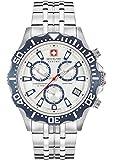 SWISS MILITARY-HANOWA Herren Analog Quarz Uhr mit Edelstahl Armband 06-5305.04.001.03