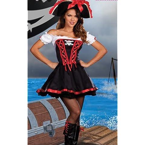 Donna 2 Pezzi Sexy Costume Da Pirata