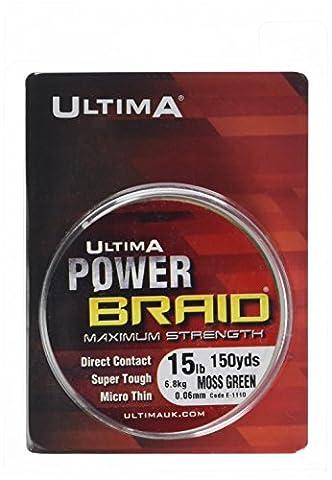Ultima E1110 Power Braid Super Strong Micro Braid Fishing Line