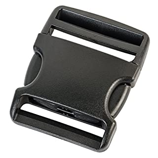AceCamp 7046Ersatzschnalle, Duraflex, 50mm, Seitenschnalle, schwarz