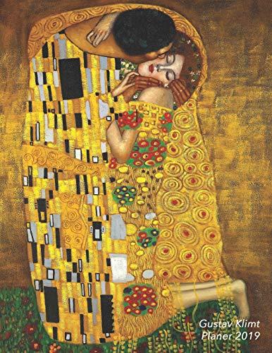 Gustav Klimt Planer 2019: Trendy Jugendstil Wochenplaner | Der Kuss | Monatsplaner Mit Raum für Notizen (Jahresplaner, Band 9) (Jugendstil-planer)