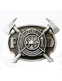 Buckle Fire Department, Feuerwehr, USA - Gürtelschnalle