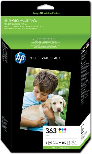 hp-363-series-photo-value-pack-cartouche-dencre-et-kit-papier-noir-jaune-cyan-magenta-magenta-clair-