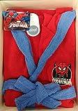 Peignoir enfant ultimate spiderman rouge 8A