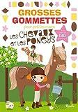 les chevaux et les poneys avec plus de 130 gommettes