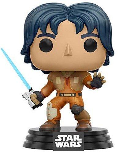 FunKo 10772 POP Bobble: Star Wars: Rebels: Ezra, Orange, ()