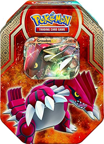Lively Moments Pokemon Karten Tin Box Groudon-EX EN Englisch Trading Card Game / Metallbox