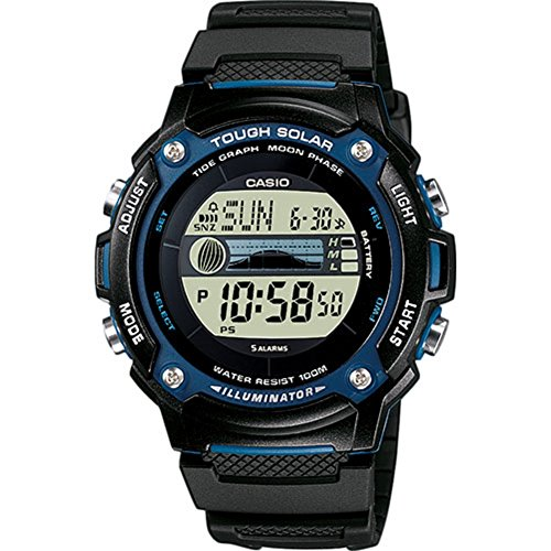 Casio Collection Herren-Armbanduhr W S210H - Casio-digital-solar-uhr