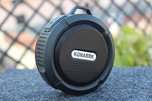 Konarrk Dustproof Waterproof Portable Bluetooth Mobile/Tablet Speaker