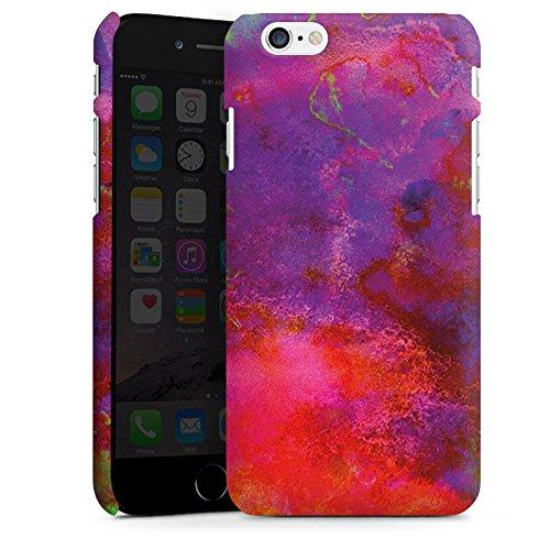 Apple iPhone X Silikon Hülle Case Schutzhülle Bunt Batik Tie Dye Muster Premium Case matt