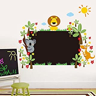 Artistic9(TM) 75x90CM Blackboard Stick Removable Vinyl Wall Stickers Decor for Kindergarten Children Kids Room