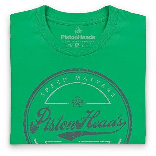PistonHeads Speed Matters Circle T-Shirt, Damen Keltisch-Grn ...