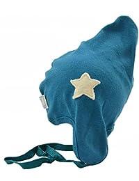 PICKAPOOH Baby Mütze Zoe aus Bio Baumwolle kbA mit Margerite oder Stern