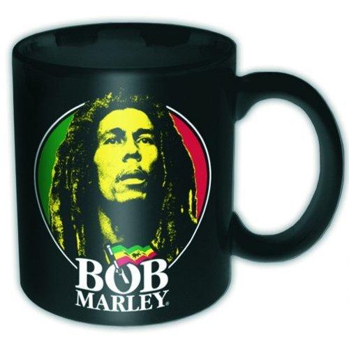 Bob Marley - Face Logo Mug - Tasse im Geschenkkarton