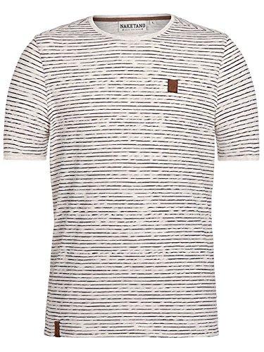 Naketano Male T-Shirt Hosenpuper X beige (120)