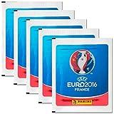 Panini - UEFA 2016 Frankreich 5 Booster Packungen Sammelsticker 25 Sticker - Deutsche Ausgabe