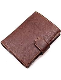 c2a496cbf5237 Sumferkyh Brieftasche Die erste Schicht aus Leder Brieftasche  Multi-Position Leder Herren Geldbörse RFID Anti-Scan Ledergeldbörse für…