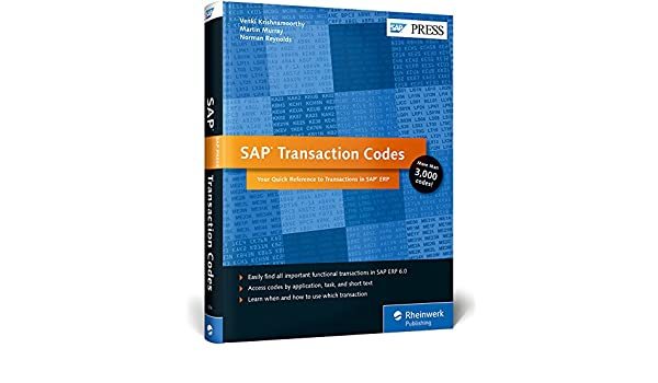 Buy SAP Transaction Codes: Your Quick Reference to T-Codes