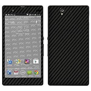 "Skin Sony Xperia Z ""FX-Carbon-Black"" Designfolie Sticker"