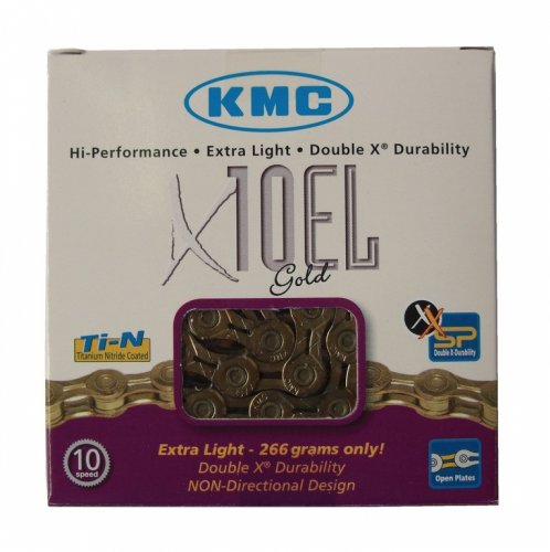 KMC Fahrradkette X-10-EL Kette gold - 2