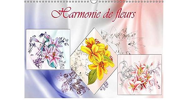 Buy Harmonie De Fleurs 2019 Dessins Aux Crayons De Couleur