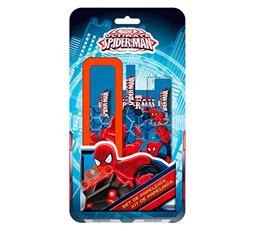 AS8574 BLISTER PLUMIER 6 PZS.SPIDERMAN
