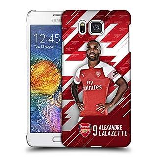 Head Case Designs Offizielle Arsenal FC Alexandre Lacazette 2018/19 Erstes Team Gruppe 1 Ruckseite Hülle für Samsung Galaxy Alpha