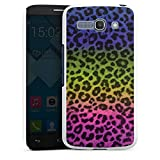 DeinDesign Alcatel One Touch Pop C9 Hülle Schutz Hard Case Cover Leopard Fell Bunt