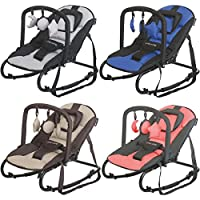 Baby Bouncer RELAX STARDUST / Cradling Bouncer (BLACK/GRAY)
