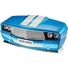 Muscle Car Lamp - Lampada da parete 3D - Auto Americana Blu - Blu Auto Lights