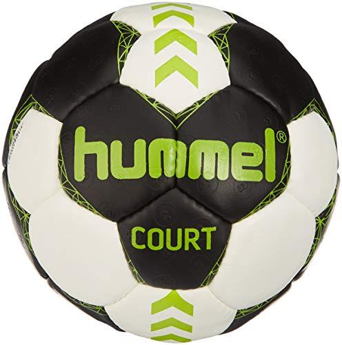 Hummel Erwachsene Court Handball Asphalt/Green Lime 2