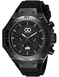 Gio Collection Analog Black Dial Men's Watch - AD-0051-F