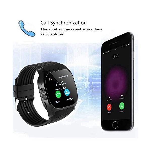 CanMixs Smartwatch CF02 es compatible con la tarjeta SIM Reloj de pulsera TF con cámara Podómetro Sleep Monitor Message Sync notifica el reproductor de música sedentaria para el teléfono Android IOS 5