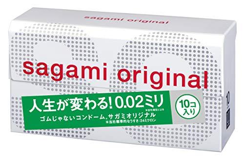 SAGAMI ORIGINAL 002 Kondome 10 Stück