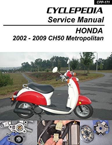 2002-2009 Honda CHF50 Metropolitan Service Manual (English Edition)