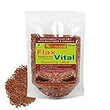 #5: NutrActive Flax Vital Roasted & Salted Flaxseed | Omega 3 Fatty Acid 200 gm